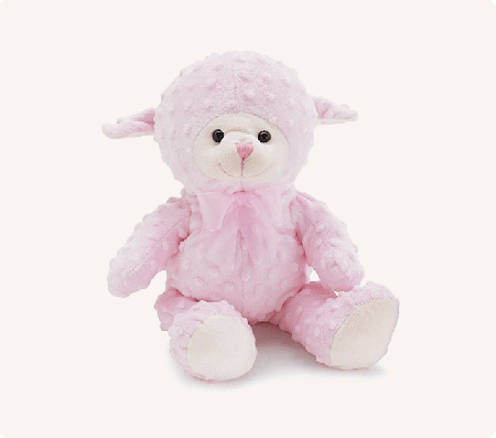 Toys Pink Soft Teddy