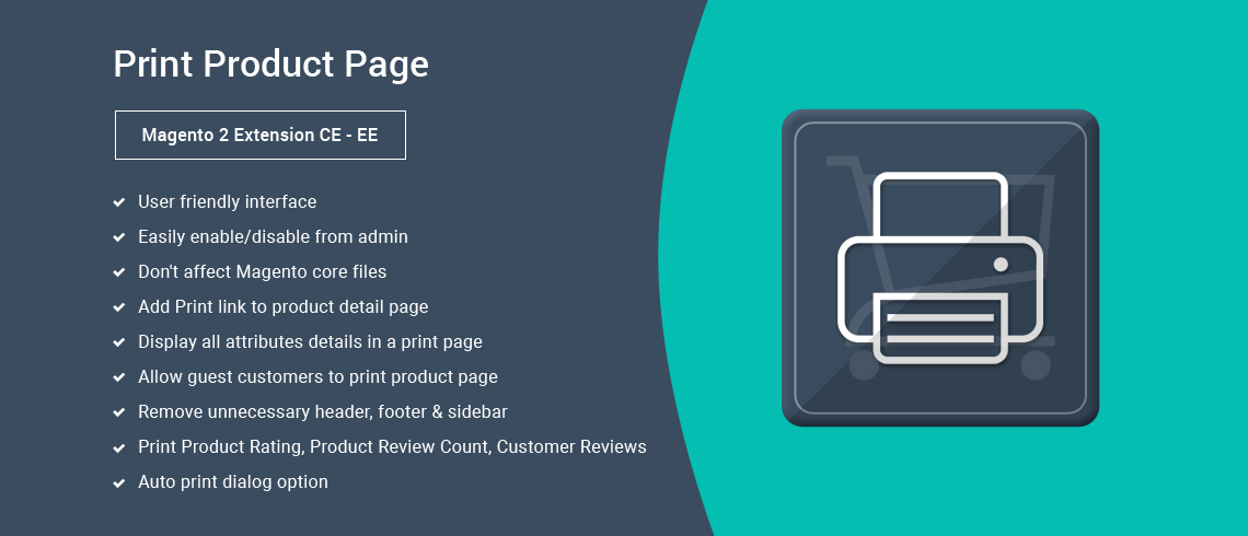 Print Product Page – Magento 2 Extension