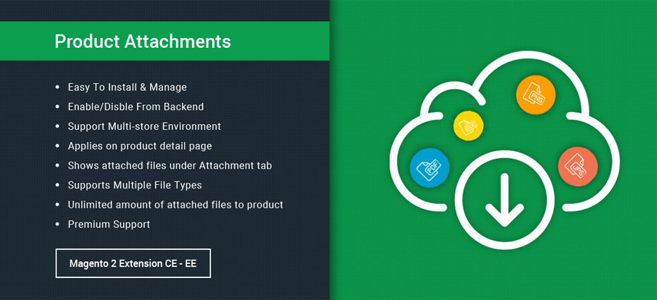 Product Attachment - Magento 2 Extension